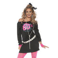 Halloween 80s Costume 80 U0027s Costume Ebay