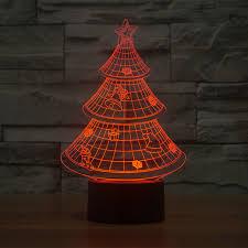 led christmas tree 3d illusion l led decoration lights led christmas tree l