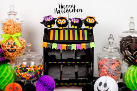 halloween sweet bags honeycomb character halloween party partyography
