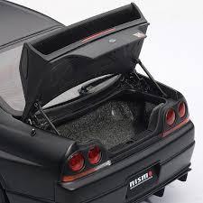 nissan gtr matte black nissan skyline gt r r tune r33 matte black auto art touch