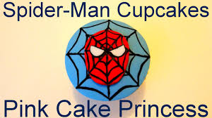 how to make spider man cupcakes a cupcake decorating tutorial by