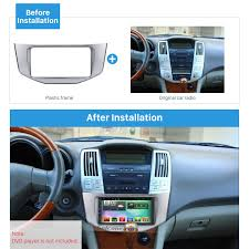 lexus is dvd player quality 2din 2003 2008 2010 lexus rx330 rx350 toyota harrier car