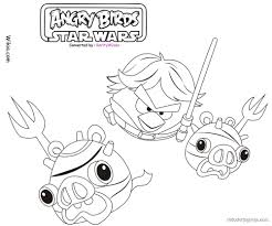 birds star wars coloring sheets