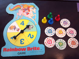 rainbow brite a board game a day