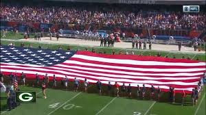 Packer Flags Packers Join In On Nfl Wide Protests Of Trump National Anthem