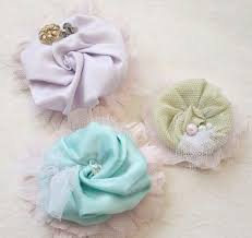 Fabric Flowers How To Make Fabric Flower Wedding Shoe Clips By Jewel Box Ballerina