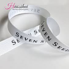 custom grosgrain ribbon aliexpress buy 1 1 4 32mm personalized grosgrain ribbon