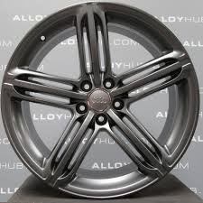 audi titanium wheels audi q5 8r s line 5 segment spoke 20 titanium alloy wheels
