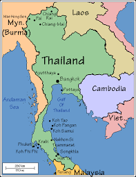 map of thailand lathi s tears maps