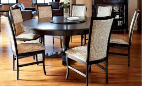 classic dining room set with round table via 60u201d ambella home