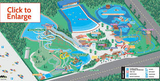 Florida Attractions Map Map Of Park And Rides Shipwreck Island Waterpark In Panama City