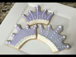princess crown cookies cookies qui cookies