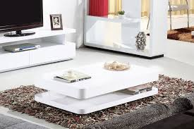 Modern White Coffee Table Modern White Gloss Coffee Table With Large Storage Space White