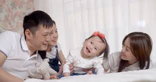 family idyll a asian family with two daughters a play