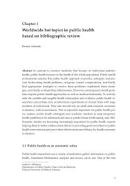 dissertation topics in biotechnology worldwide hot topics in public health based on bibliographic worldwide hot topics in public health based on bibliographic review pdf download available