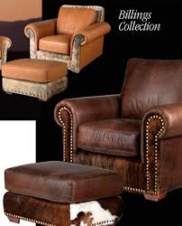 Nice Western Leather Sofa Western Furniture Western Decor - Leather chairs and sofas