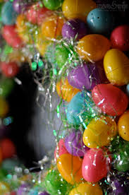 diy easter egg wreath mom u0026 wife