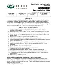 Insurance Resume Format Patient Service Representative Resume Template