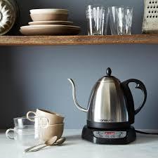 bonavita gooseneck electric variable temperature kettle on food52
