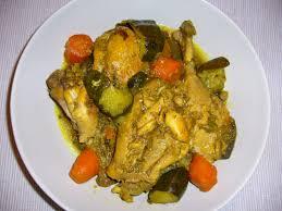 cuisine antillaise colombo de poulet colombo de poulet recettes dukan