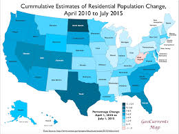 map us states population if every us state had the same population what would the map of