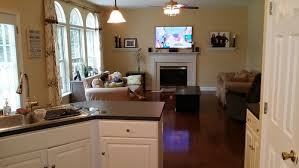 how to arrange furniture and decorate this open concept living room