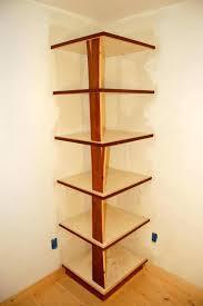 Wood Corner Bookcase Inside Corner Bookcase How Corner Bookshelf White Wood