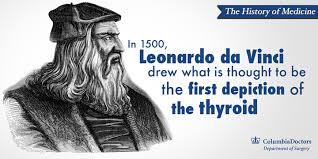 He Made Accurate Drawings Of The Human Anatomy History Of Medicine Leonardo Da Vinci And The Elusive Thyroid