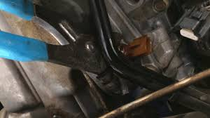 how to replace a 2005 nissan xterra oil pressure sensor with