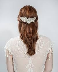 bridal hair pieces buy bridal ivory flower pins hair accessory emmy london
