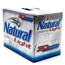 natural light natural light beer 12oz can 30 pack beer wine and liquor