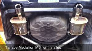 custom 2006 lexus gs300 lexus gs300 muffler with tanabe medallion custom install youtube