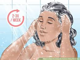 can hair be slightly curly or wavy 3 ways to care for naturally curly or wavy thick hair wikihow