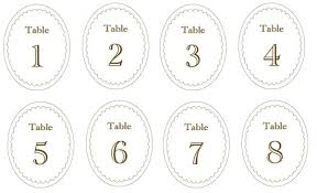 free table number templates printable table number templates vastuuonminun