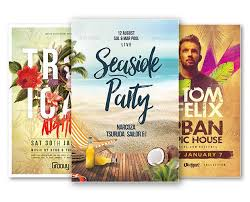 best of summer flyer templates free and premium flyer collection