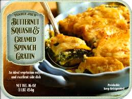 trader joes thanksgiving trader joe u0027s butternut squash and creamed spinach gratin club