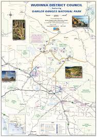 Australian Outback Map Wudinna District Council Maps Tours
