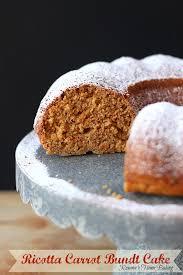 eggless ricotta carrot cake recipe