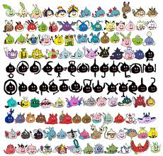 johto pokeslime collection by total drama attorney on deviantart