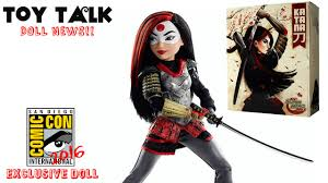 monster high halloween dolls san diego comic con 2016 dc super hero girls katana doll u0026 more