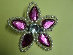 hair brooch design hair accessories pearl flower