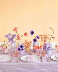 Purple And Blue Flowers Purple And Blue Wedding Centerpieces Martha Stewart Weddings