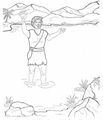 rich young ruler coloring page john the baptist coloring pages sunday pinterest