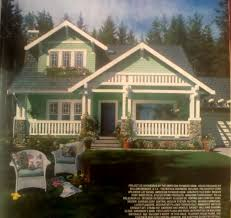 American Small House Country Living 1992 House Of The Year Craftsman Style Dream