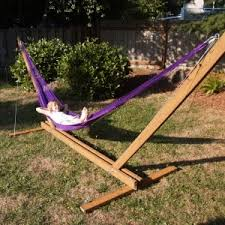 furniture interesting free standing hammock with swing chair also