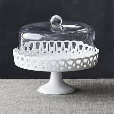 vintage cake stand cake stand with glass dome in specialty serveware reviews