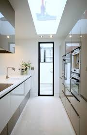 Galley Kitchen With Island Layout The 25 Best Galley Kitchen Island Ideas On Pinterest Kitchen