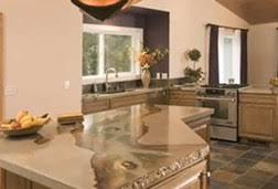 Kitchen Granite Countertops Cost by Concrete Countertops Cost Compare Granite And Other Materials