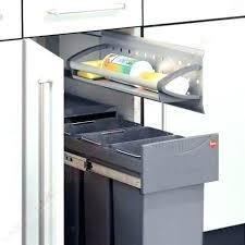 meuble cache poubelle cuisine poubelle de cuisine sous evier poubelle meuble cuisine