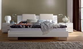 White High Gloss Bedroom Furniture Uk Hasena Movieline Reca Orva Leather High Gloss Modern Bed